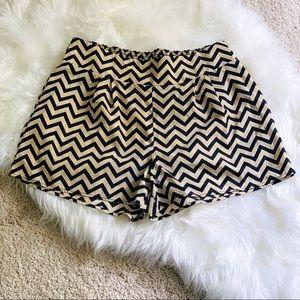 4/$20 Millibon USA Chevron Patterned Shorts